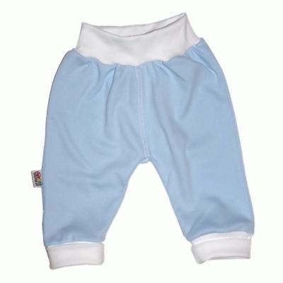 Pantalon bleu en 100% coton pour bébé http://simedio.fr