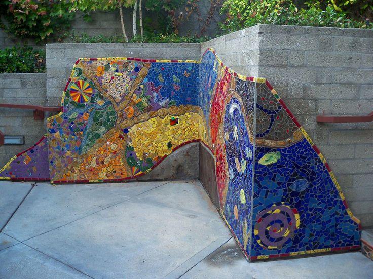 Mosaic Tile Wall Art   Tile Design Ideas