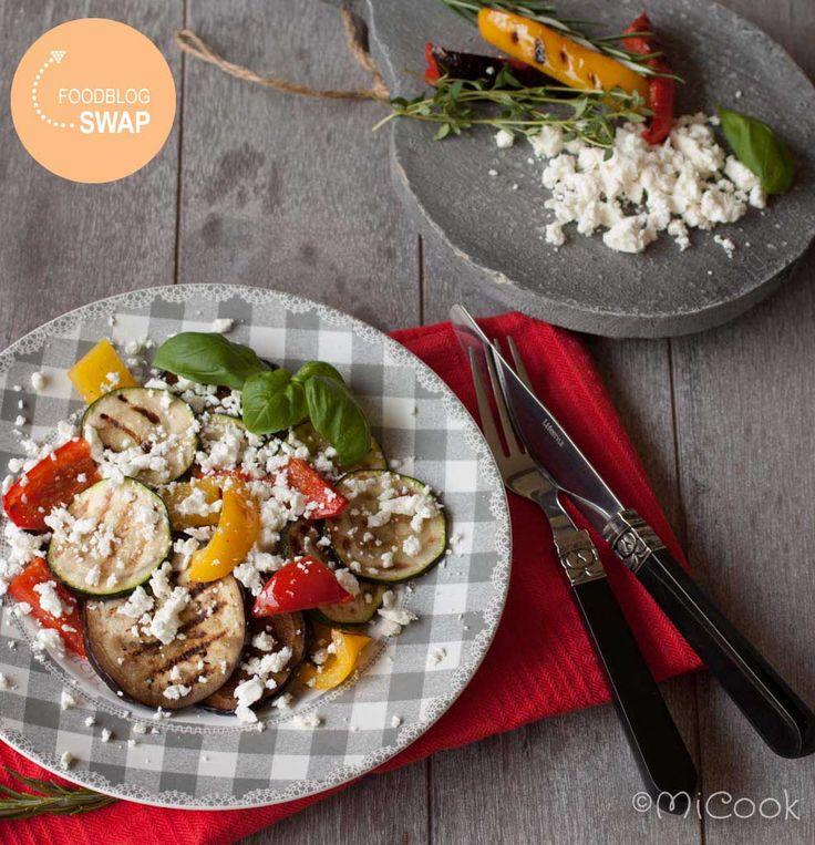 Foodblogswap - Gemarineerde gegrilde groenten - MiCook