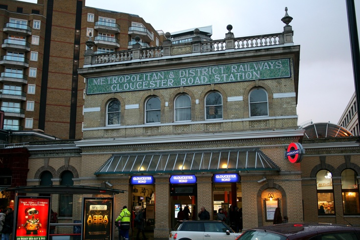 Gloucester Road Tube Station, Londres