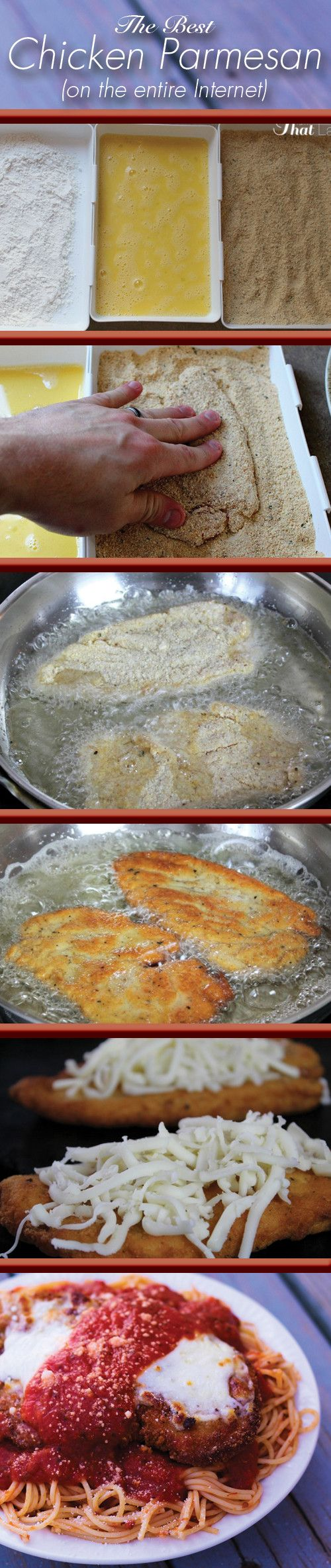 This is the best Restaurant Quality Chicken Parmesan recipe EVER! It's been perfected over the course of 15 years - you will LOVE it!