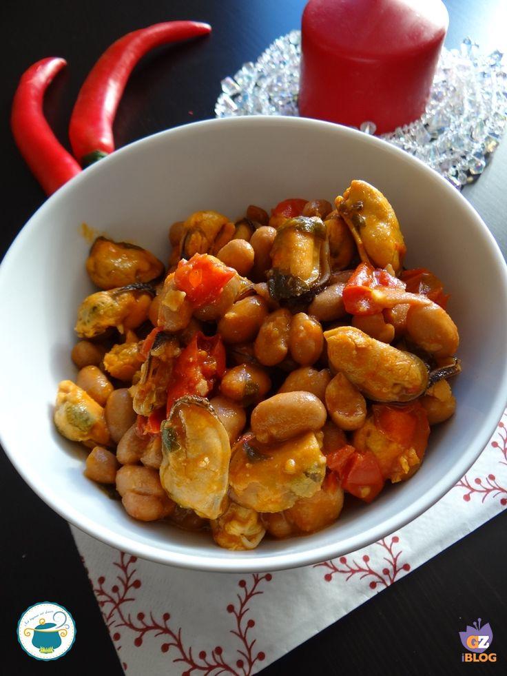 Cozze e fagioli alla calabrese / piatto unico