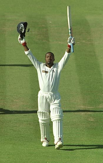 Brian Lara scores 501 runs for Warwickshire v Durham at Birmingham, England Jun 2-6, 1994 | Highest individual score in First Class cricket.