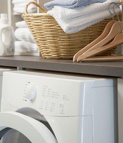 Per la lavatrice: ammorbidente e disincrostante