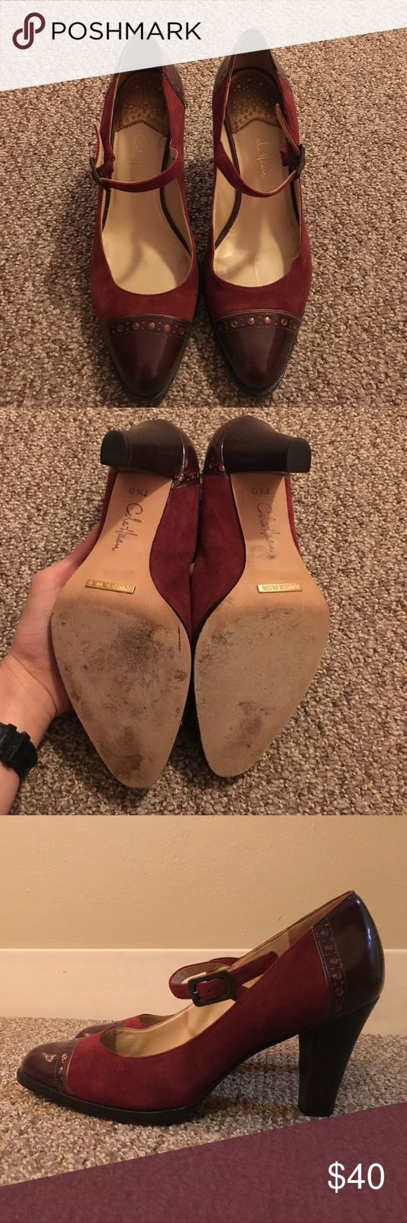 Cole Haan pumps, size 7.5 Gently used, only visible on the soles. Very comfortable! Cole Haan Shoes Heels