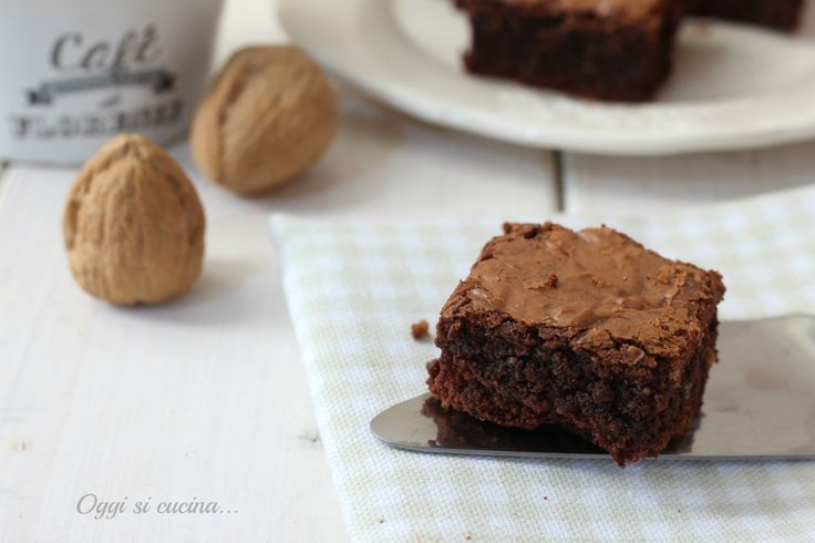 Brownies-ricetta al cioccolato