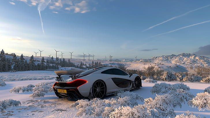 Hd Wallpaper Forza Forza Horizon 4 Video Games Car Vehicle Snow Screen Shot Wallpaper Flare Forza Horizon 4 Forza Horizon Forza