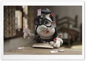 Mary And Max Cartoon HD Wide Wallpaper for Widescreen