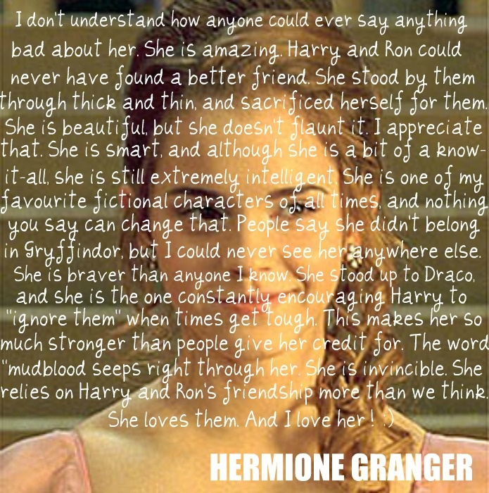 : Books Character, Jeans Granger, Hermione Jeans, Emma Watson, Fiction Character, Hermione Granger, Harry Potter, Hermione 3, Role Models