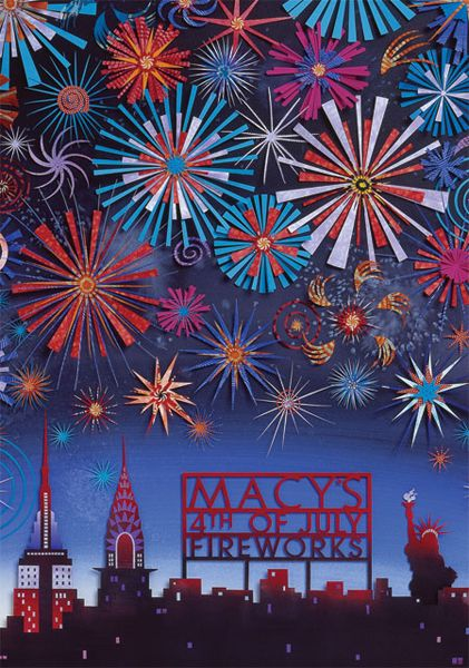 Macys Fourth of July Fireworks by Jo Lynn Alcorn