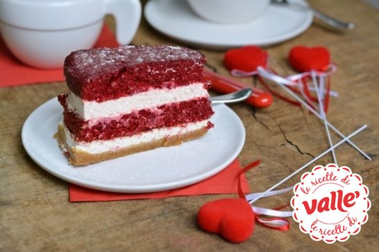 Cheesecake red velvet #sanvalentino #cuore