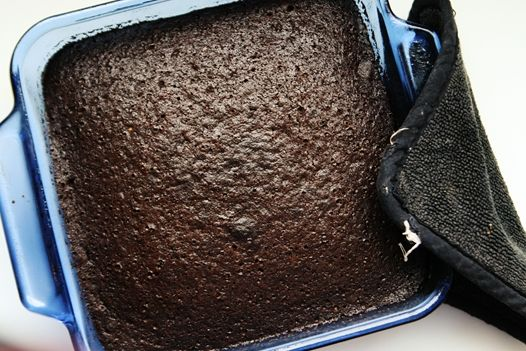 Chocolate Wacky Cake...made with baking soda and vinegar in place of milk and eggs...im definitely going to have to try this at some point.