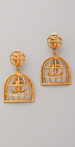 vintage chanel birdcage