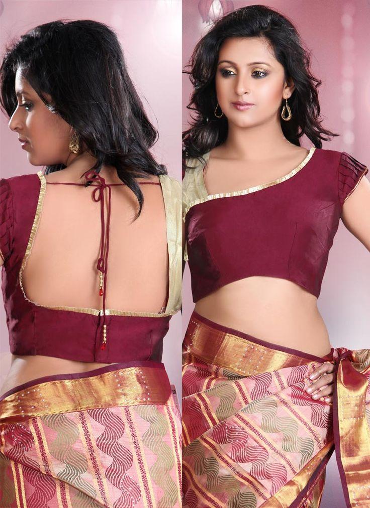 sari blouse design