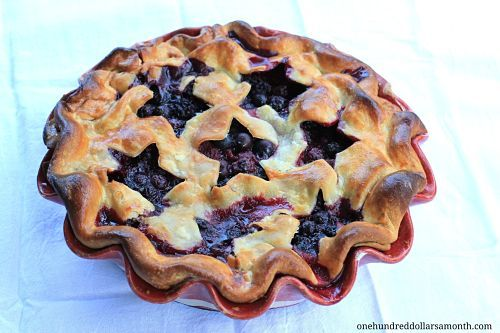 4th of July Dessert Recipes – Mixed Berry Pie