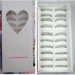 $3.93 Korean Hot Sale 10 Pairs Professional Makeup Party Artificial Eyelashes