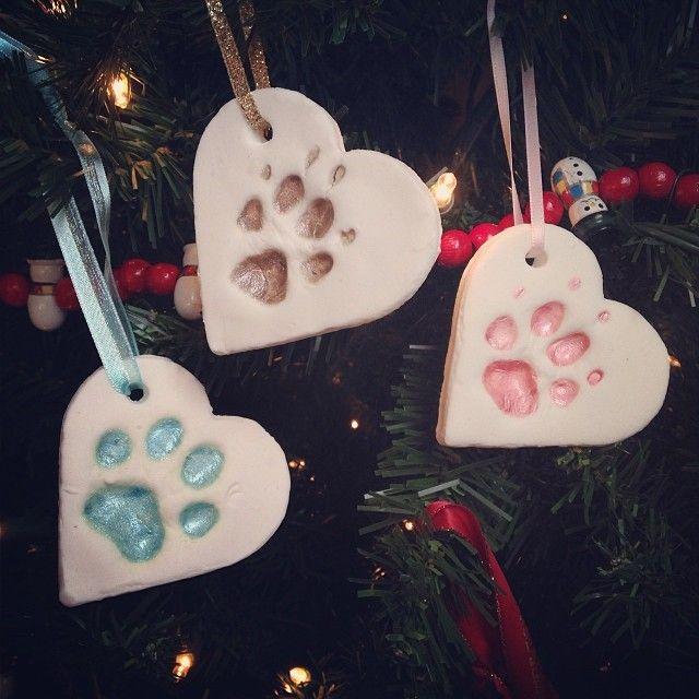 Paw Print Ornaments (c) Kristen Dembroski