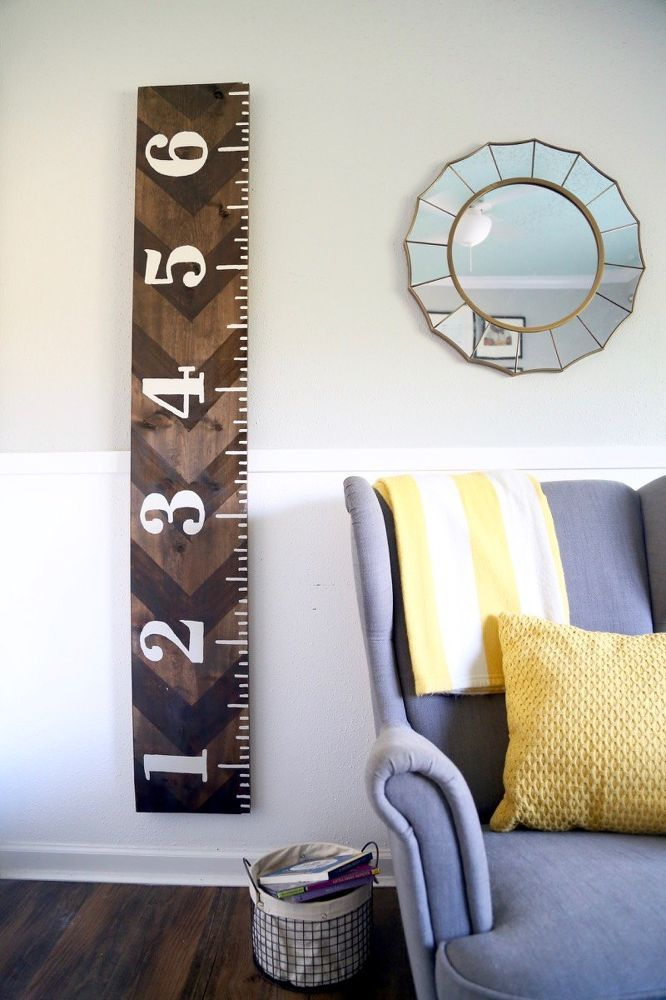 We made this incredibly simple DIY growth chart to keep track of how quickly our toddler is growing without leaving permanent marks on our walls. We wanted some…