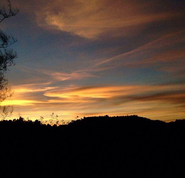 Sky #orange #iphone4