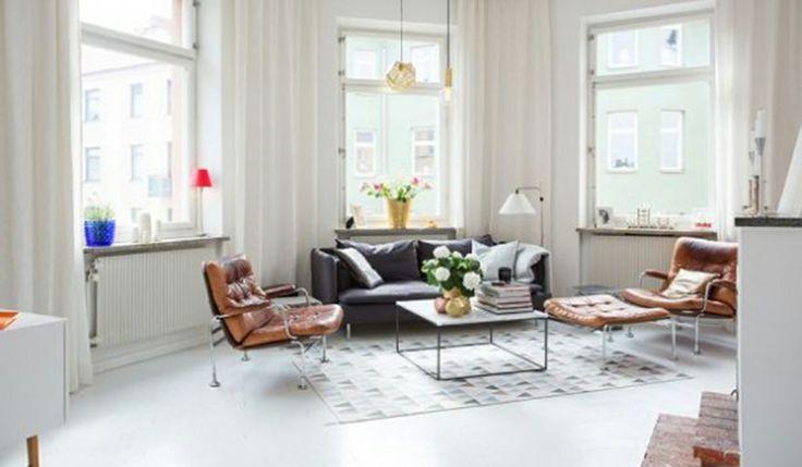 İsveçte bir apartman dairesinin ev dekorasyonu nasıl yapılmış İsveç Östermalm'da bulunan bir apartman dairesi, eski iskandinav evlerinde de gözlenen ev dekorasyonu özelliklerinden esinlenilmiş.