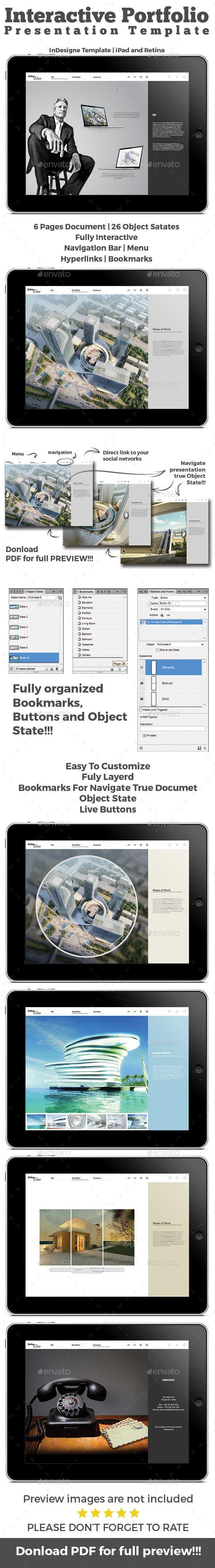 30 best Interactive PDF Portfolio/Presentation images on Pinterest ...