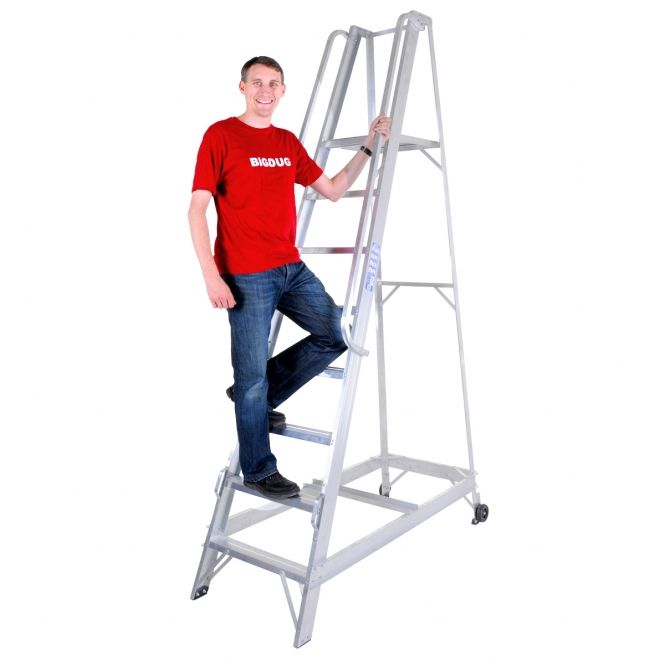 Aluminium Warehouse Steps Steps Health And Safety Step Ladders