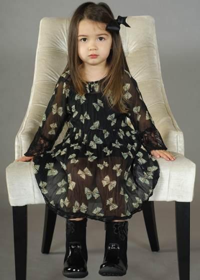 kids fashion girls clothing winter