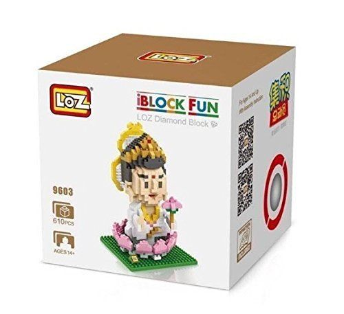 New LOZ Chinese Buddhism Bodhi-sattva Nanoblock Lego Mini Figure Real Hobby Series >>> Be sure to check out this awesome product.