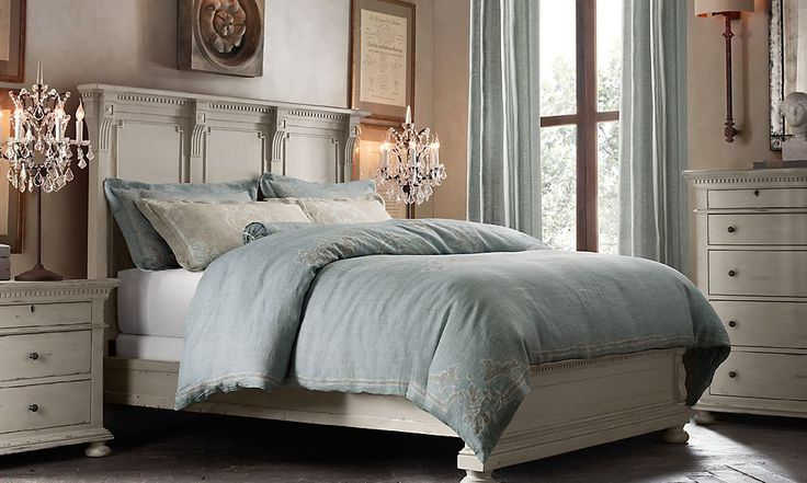 This One Restoration Hardware St James Bed St James Queen Panel Bed Without Footboard