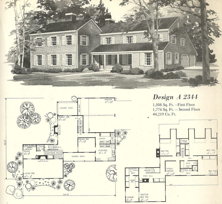 images about Floor Plans on Pinterest   Vintage House Plans    vintage house plan   Vintage House Plans s  Farmhouse Variations · Posted on