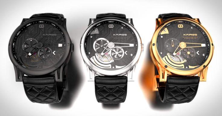 Die erste mechanische Smartwatch