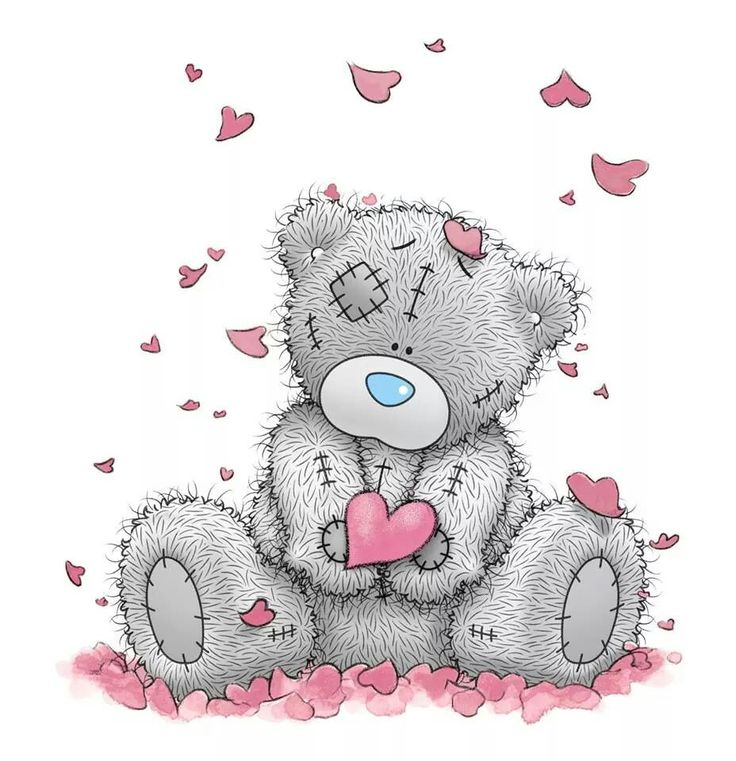 valentine's day bear coloring pages