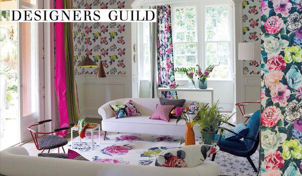 Designers guild images casadeco roller blinds clarke for Designers guild bedroom ideas