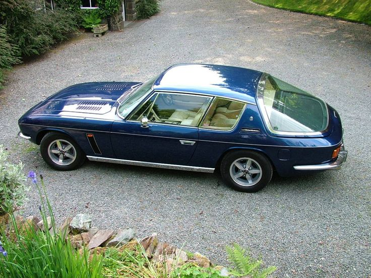 American engine, meet European car. Jensen Interceptor
