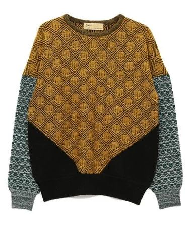 """TOGA(トーガ)のJacquard knit pullover 2(ニット・セーター) イエロー"" https://sumally.com/p/1051755?object_id=ref%3AkwHNPvaBoXDOABAMaw%3AyKTv"