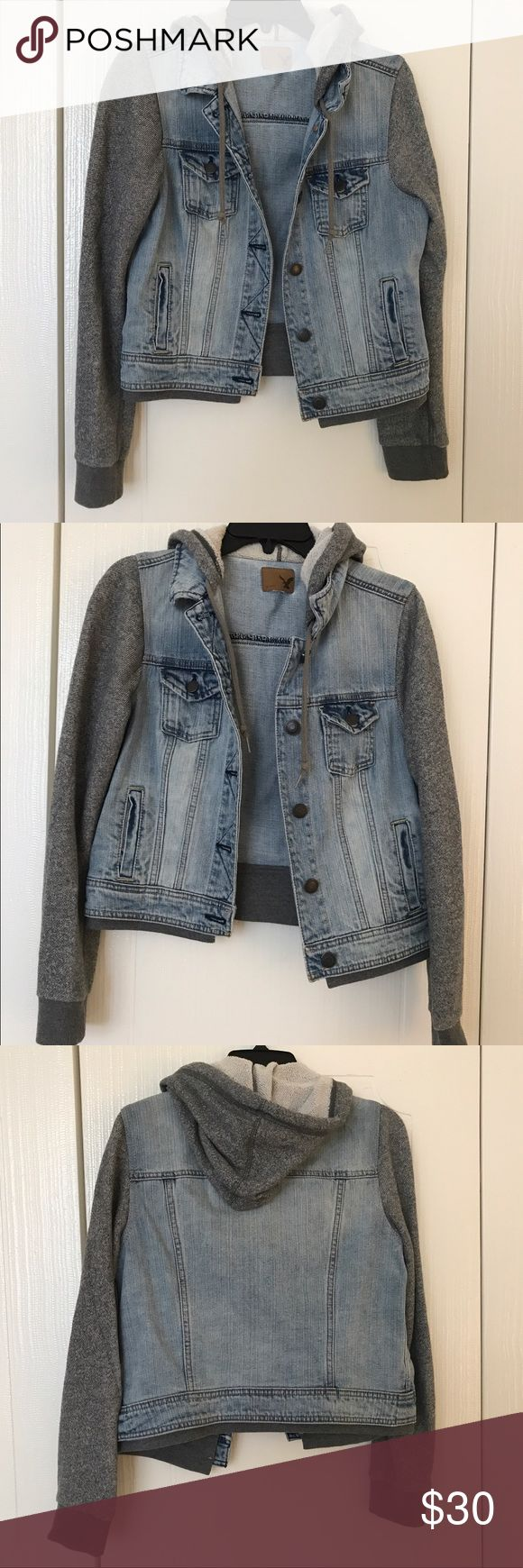 American Eagle Jacket In very good condition. American Eagle Outfitters Jackets & Coats Jean Jackets