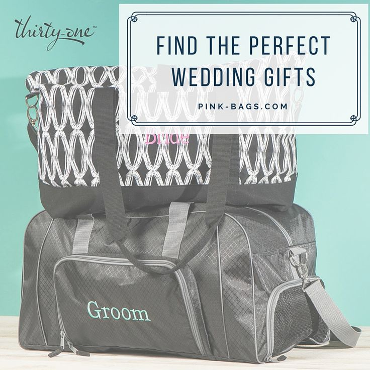 Perfect Wedding Gift From Groom To Bride : the perfect wedding gift with Thirty-One Gifts! Personalized gifts ...