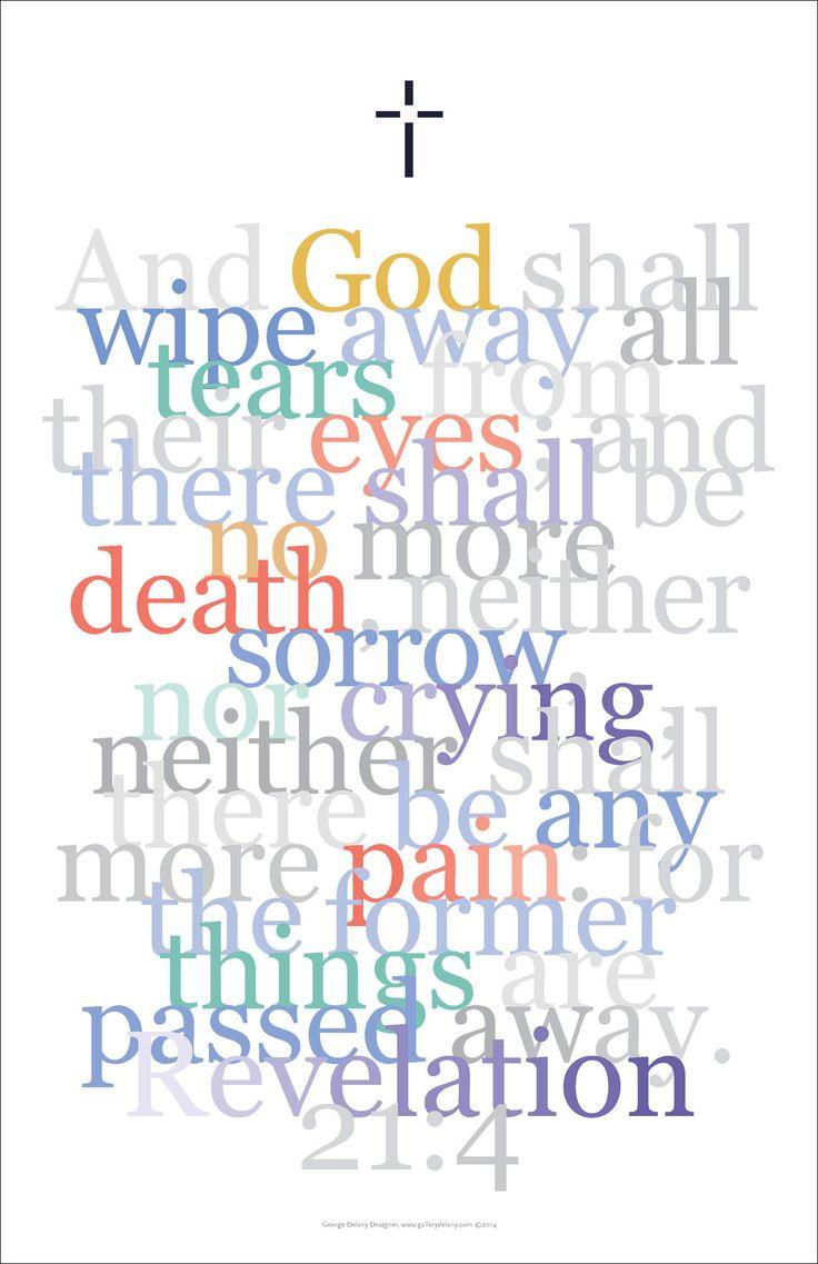 Bible digital art print 18 revelation 21 4 and god shall wipe away all tears