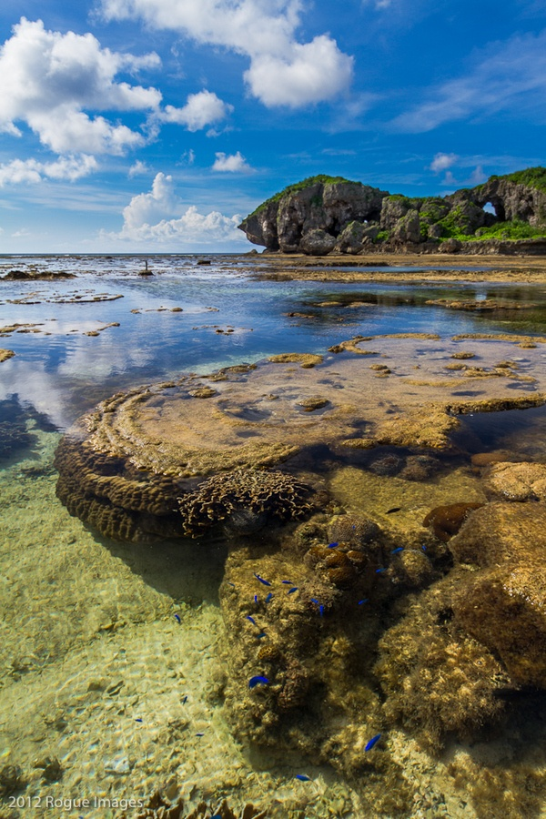 Onna Okinawa Prefecture, Japan; Europo, nie tylko Ty możesz pochwalić się morskim brzegiem. :)