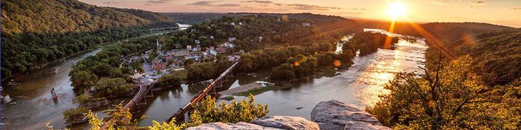 Harpers Ferry National Historic Park - can't beat this view! Bring snacks and enjoy! Be sure what you bring in, you take out!