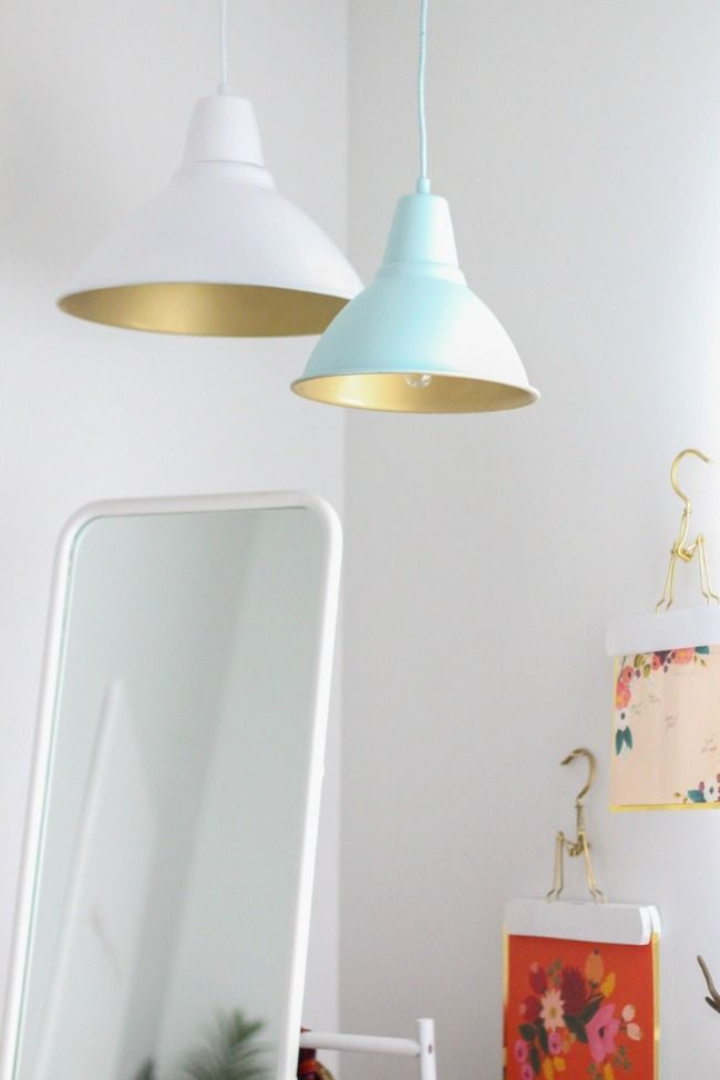Lulus fresh spaces diy pendant lamps