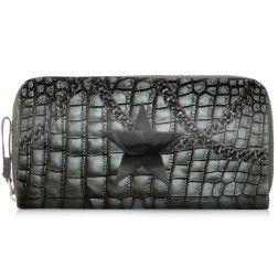 Brieftasche Allet Croco Chain
