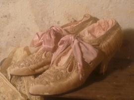 antieke victoriaanse schoenen