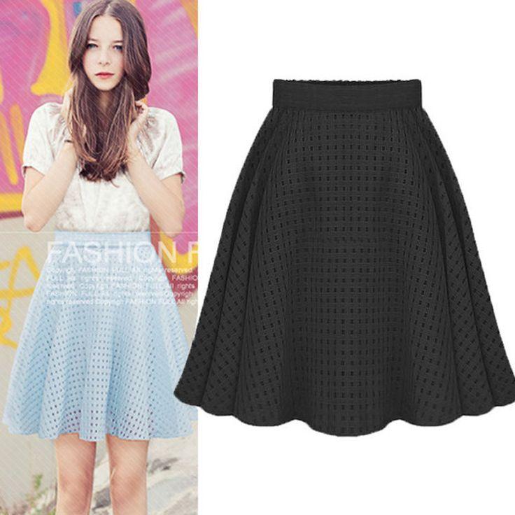 Европа 2016 летом новый органзы клетчатые юбки бюст юбки женская миди белый черная юбка юбки женские для девочек пышная юбка юбка пачка для женщин короткая юбка в полоску