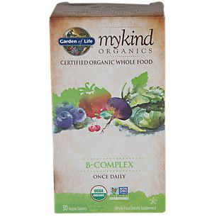 My Kind Organics B Complex (30 Vegan Tablets)  by Garden of Life at the Vitamin Shoppe