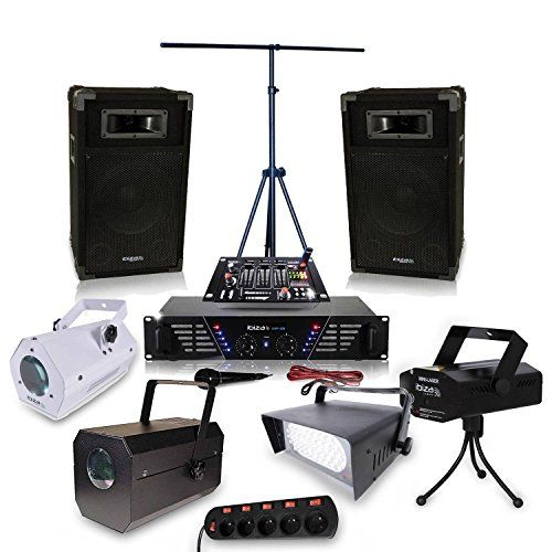 Pack sono Dj Ampli 2 x 240 W + Effet pack lumieres Ibiza sound http://www.amazon.fr/dp/B016UTBQ8E/ref=cm_sw_r_pi_dp_XFwLwb1B39BXQ