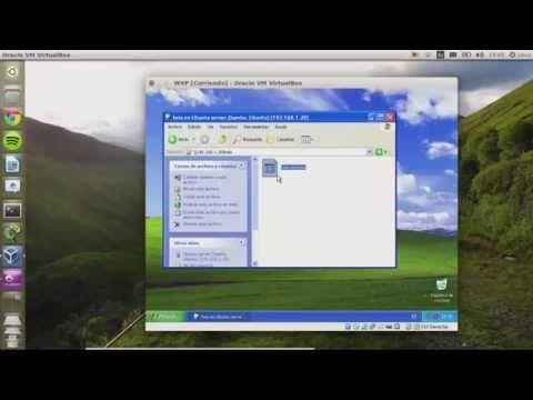 Compartir carpetas en red - Windows y Linux - YouTube