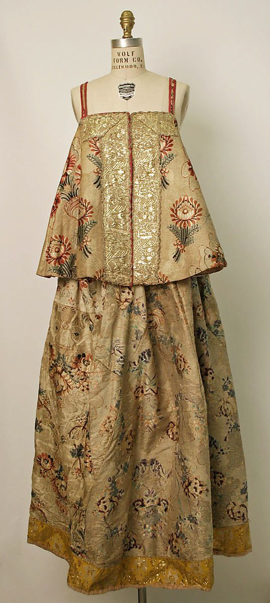 Russian Dress, Probably 19th Century.