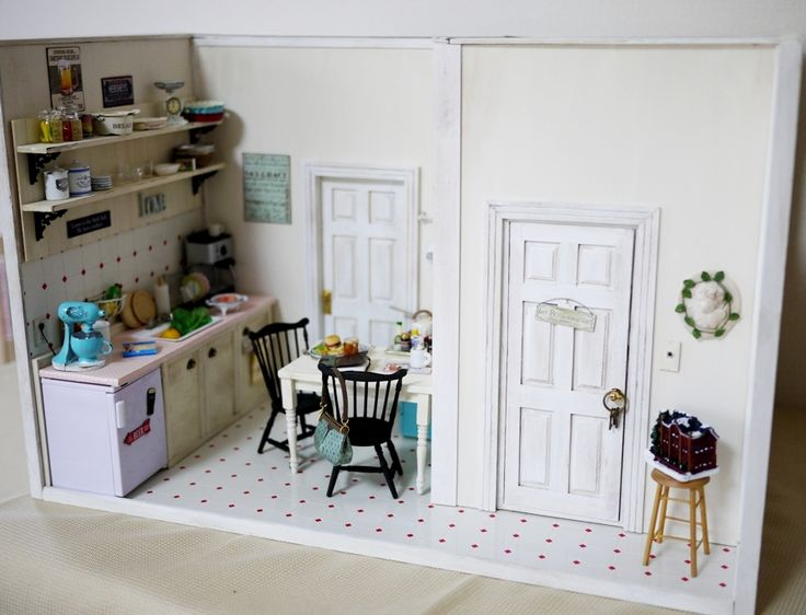 Kitchen Diorama Made Of Cereal Box: 66 Best Images About Dioramas On Pinterest
