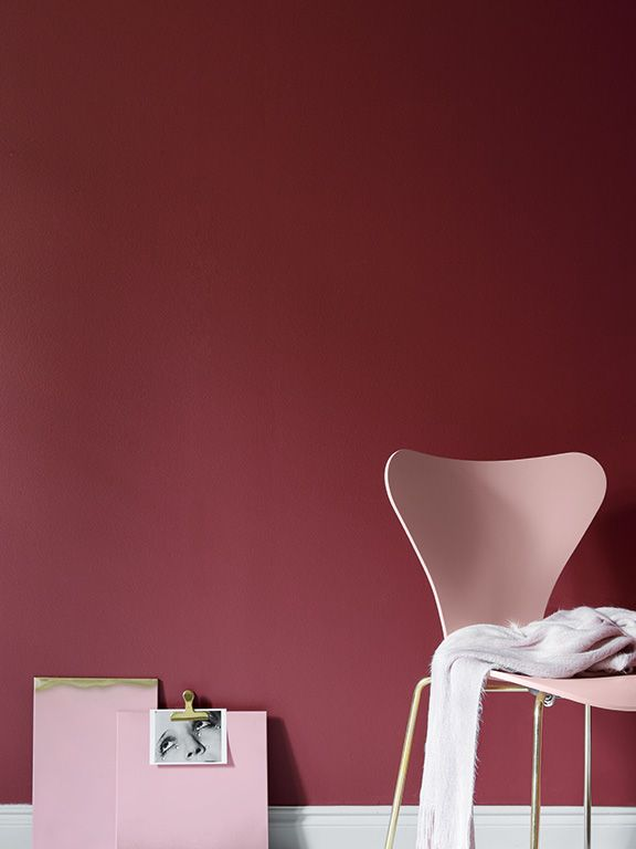 Tikkurila Color Now - paleta czerwieni INTENSE